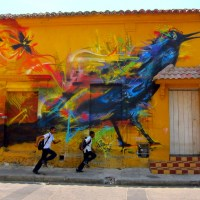 Street Art: Colors of Cartagena