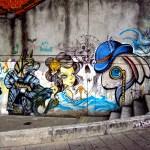 Alice in Wonderland Graffiti