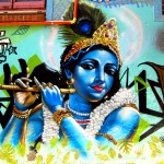Krishna Graffiti