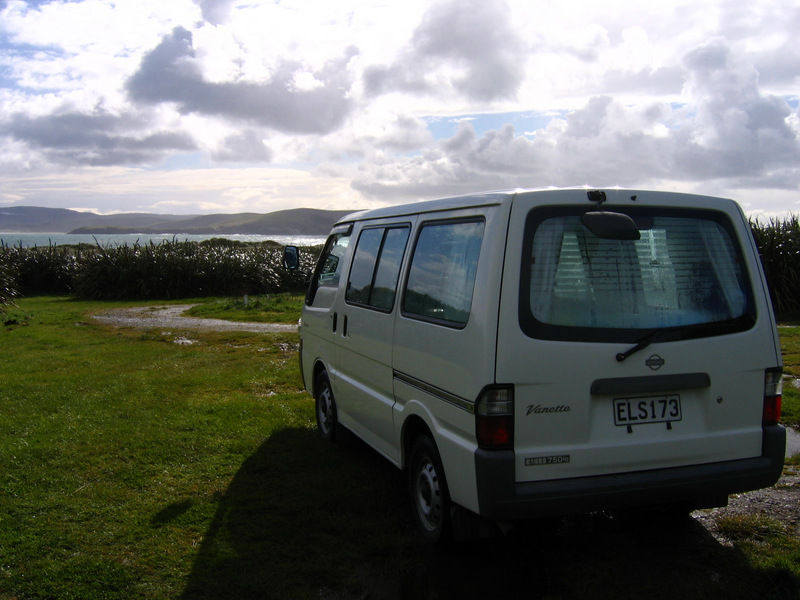 Camper van in New Zealand