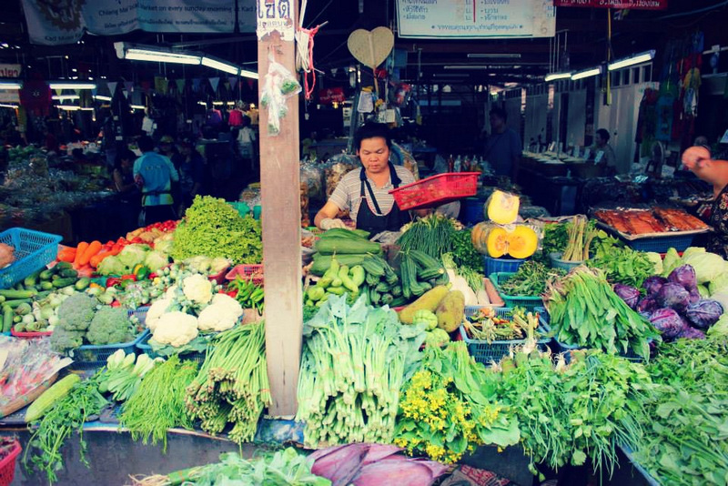 Chiang Mai Food Markets