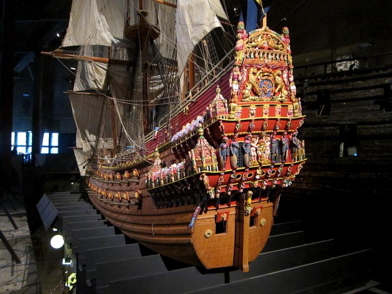 1 : 10 scale model of the Swedish warship Vasa