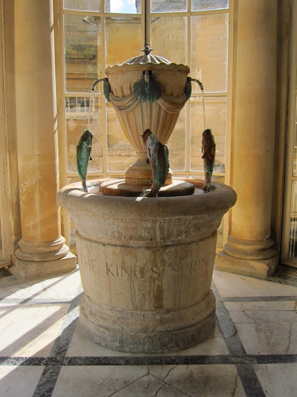 The King's Spring in the Pump Room