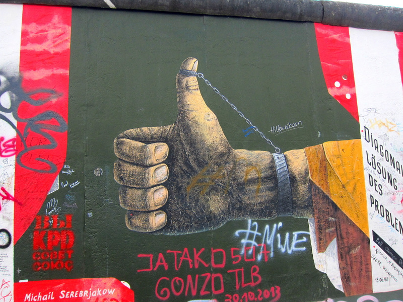 Street Art: Berlin's East Side Gallery