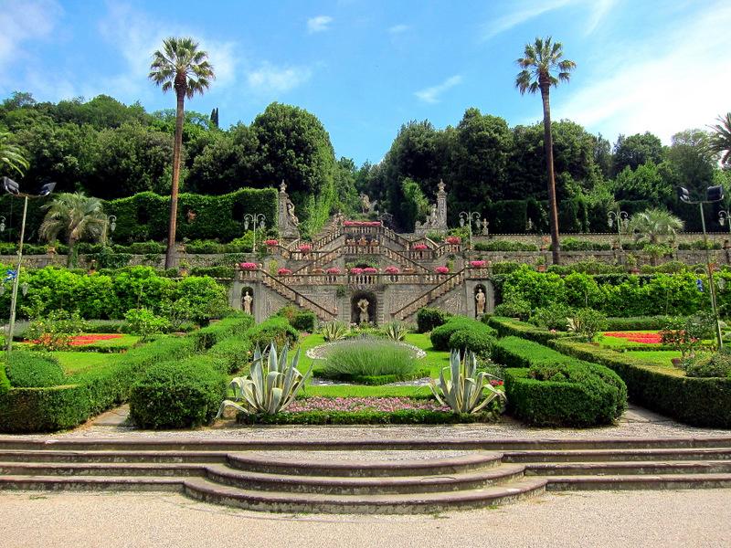 Gardens in Collodi