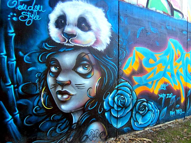 Panda Girl, Seville, Spain