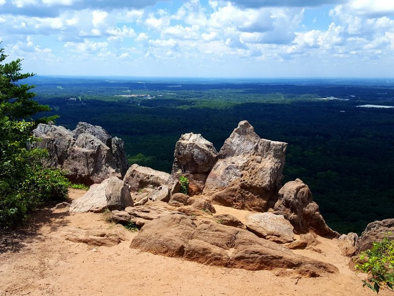 Crowders Mountain Pinnacle Lookout