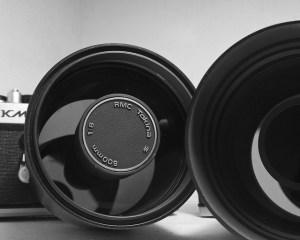 Avec son miroir frontal, un objectif catadiotrique se reconnait au premier coup d'oeil ! Photo: brian hefele