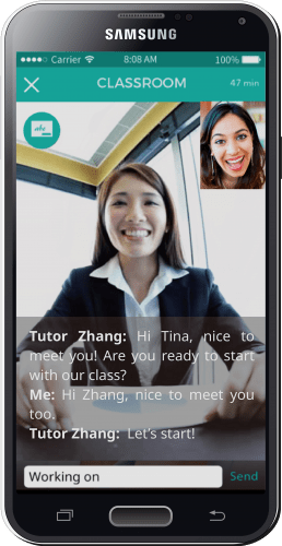 TutorMandarin Mobile App
