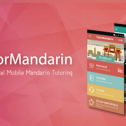 TutorMandarin Google Play Android App Launch