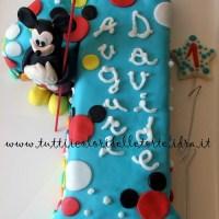 Torta Topolino Primo compleanno