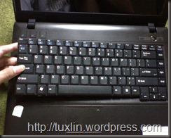 AXIOO Neon MNC, Keyboard Kok Mogok? (2/6)