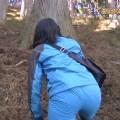 【放送事故画像】テレビでお尻突きだしちゃって形も大きさも丸わかりな女達www