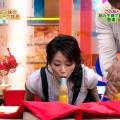 【擬似フェラキャプ画像】何食べてもその表情だけでエロく見えてしまうタレント達の食レポww