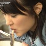 【擬似フェラキャプ画像】食レポの食べ方がどう見てもエロく見えてしまう女子アナ達w