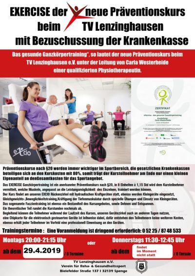 News und Termine | TV Lenzinghausen e.V.