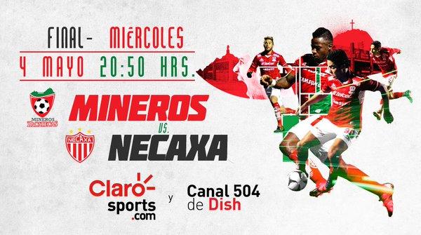 Mineros vs Necaxa en Vivo Final Ascenso MX 2016