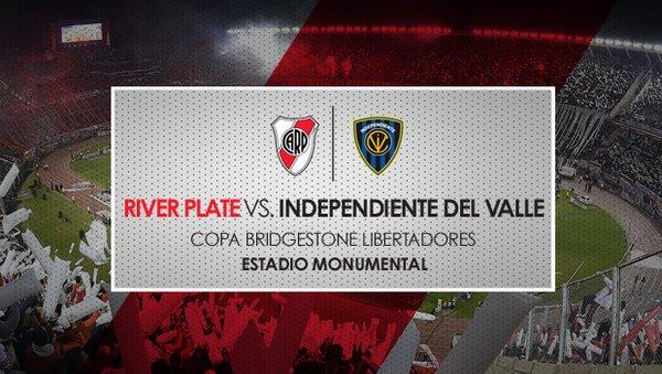 River Plate vs Independiente del Valle en Vivo Copa Libertadores 2016