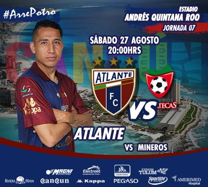 Atlante vs Mineros en Vivo Univision TDN Ascenso MX 2016