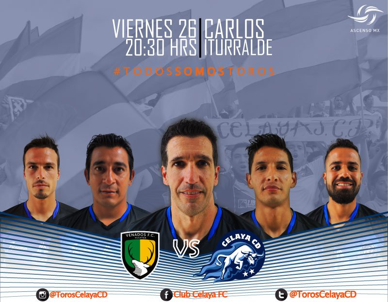 Venados vs Celaya en Vivo Online Ascenso MX 2016