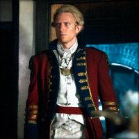Neil Jackson as Abraham Van Brunt in Sleepy Hollow.