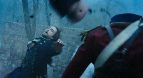 "Sleepy Hollow: Ichabod beheading Horseman ""Pilot"""