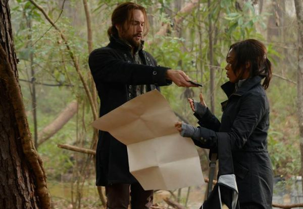 Ichabod and Abbie search for Washington's secret grave on Sleepy Hollow