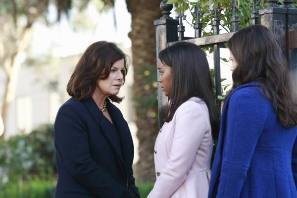 Marcia Gay Harden plays Hannah on How to Get Away with Murder