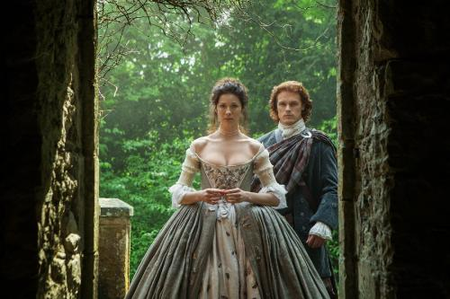 Jamie and Claire Wedding Outlander