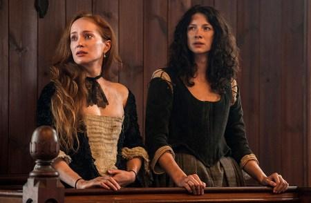 "Geillis Duncan and Claire Fraser Outlander: ""The Devil's Mark"""