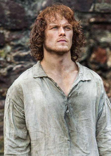 Jamie at Wentworth Prison Outlander
