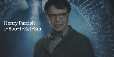 John Noble as Henry Parrish on Sleepy Hollow