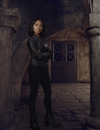 Promo photo of Nicole Beharie as Abbie Mills on Sleepy Hollow