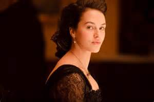 Jessica Findlay Brown as Lady Sybil Crawley on Downton Abbey