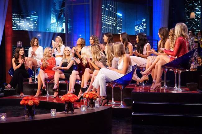The Bachelor contestants from Season 20 gather for The Women Tell All