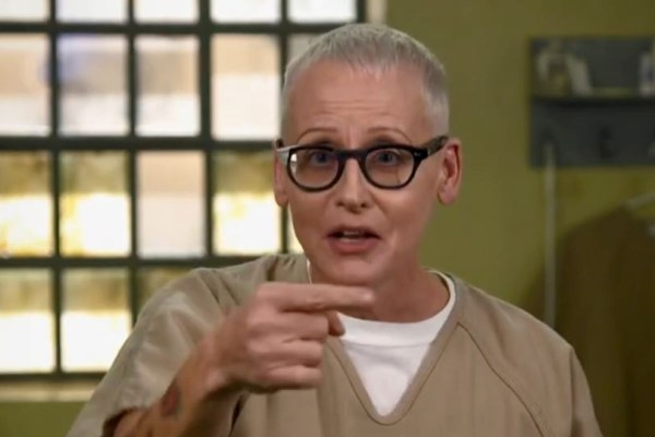 Lori Petty as Lolly on Orange is the New Black
