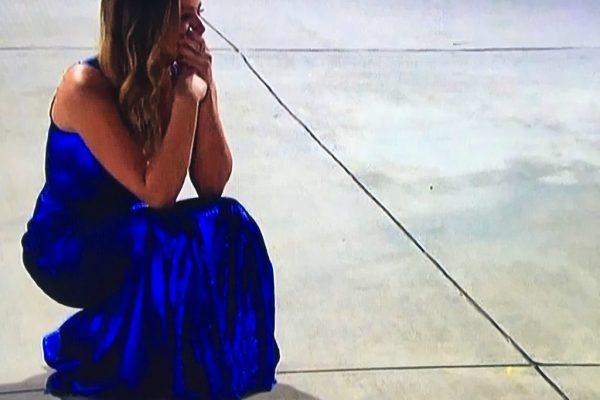 The Bachelorette JoJo cries