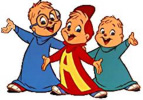 The 1980s design of Alvin and the Chipmunks
