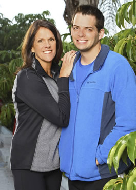 Margie and Luke on Amazing Race