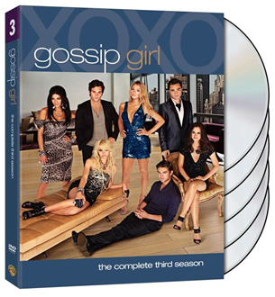 Gossip Girl season three dvd set