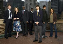Jeremy Sisto and cast of Kidnapped on NBC