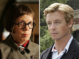 Mentalist and NCIS: Los Angeles