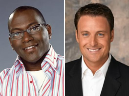 Randy Jackson and Chris Harrison