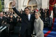 President & Mrs. Santos