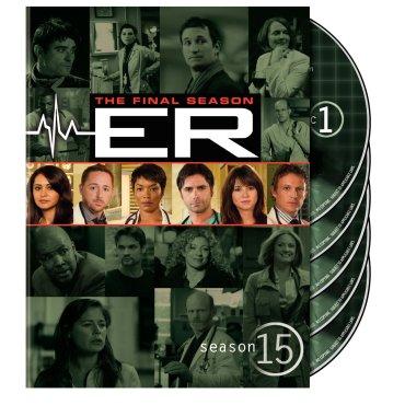 ER season 15 DVD