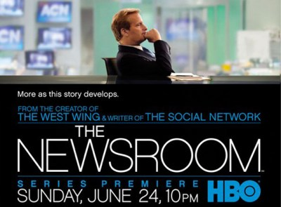 HBO ratings for Thew Newsroom TV show