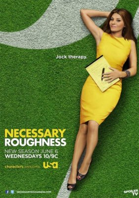 ratings for USA TV show necessary roughness