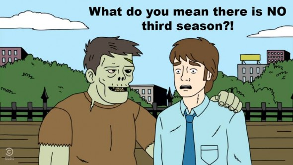 ugly americans canceled, no season three