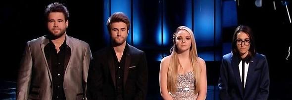 The Voice finale on NBC