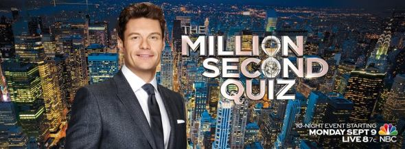 million second quiz tv show ratings